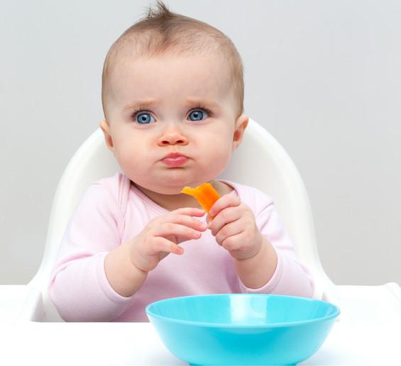 cuáles son los mejores alimentos para iniciarse en el baby-led weaning