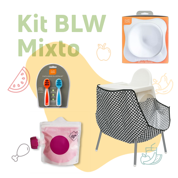 kit baby-led weaning mixto