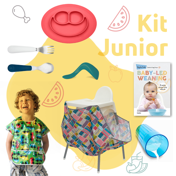 kit junior baby led weaning natural wean